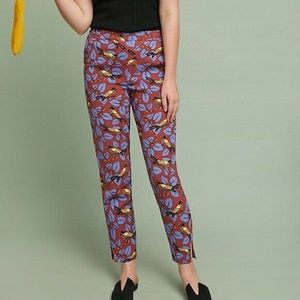 Anthropologie The Essential Bird Slim Trousers